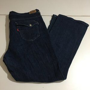 Levi's 515 Bootcut Womens Stretch Jeans Size 16 S